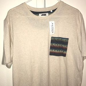 New with tag On The Byas shirt Star Wars pocket T